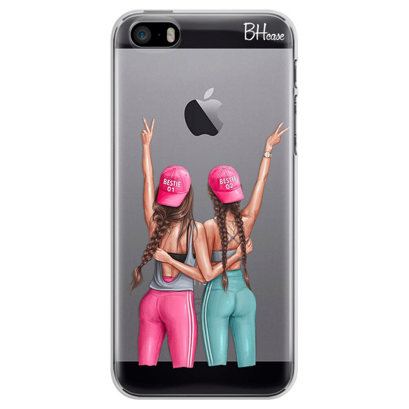 Girls Can Brown Hair iPhone SE/5S Tok