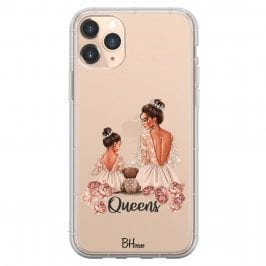 Queens Brown Hair iPhone 11 Pro Max Tok