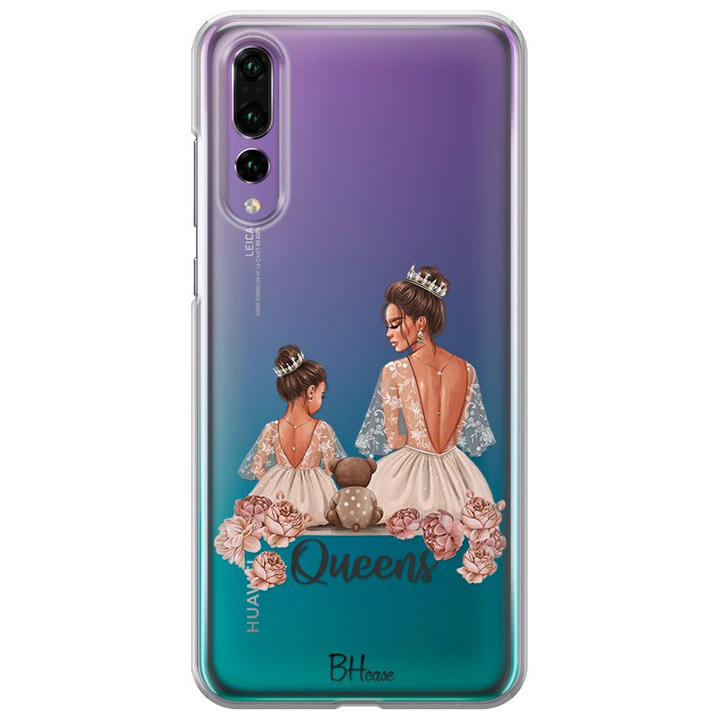 Queens Brown Hair Huawei P20 Pro Tok