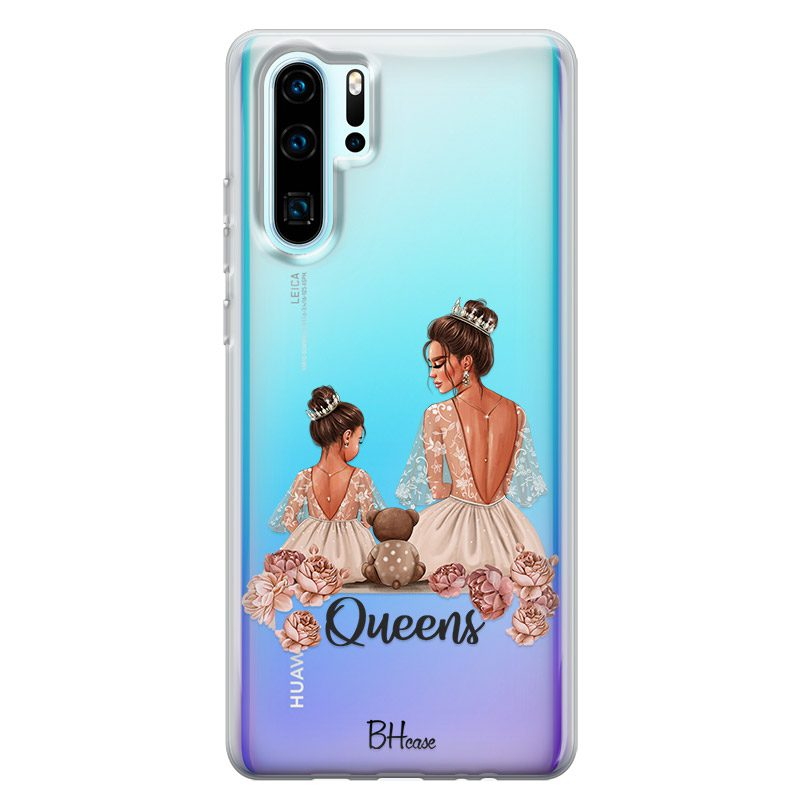 Queens Brown Hair Huawei P30 Pro Tok