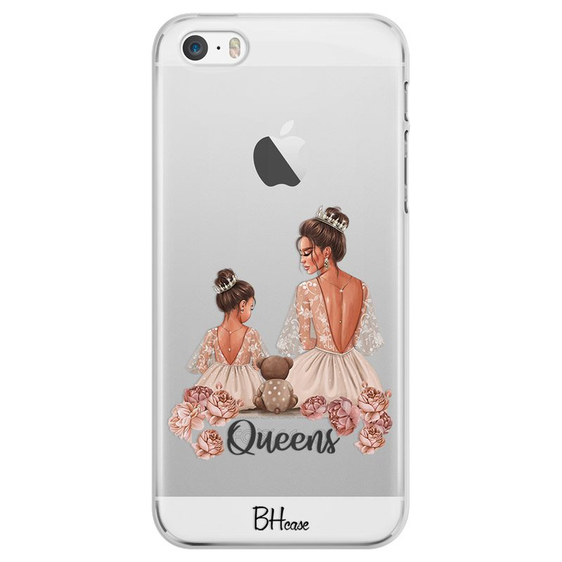 Queens Brown Hair iPhone SE/5S Tok