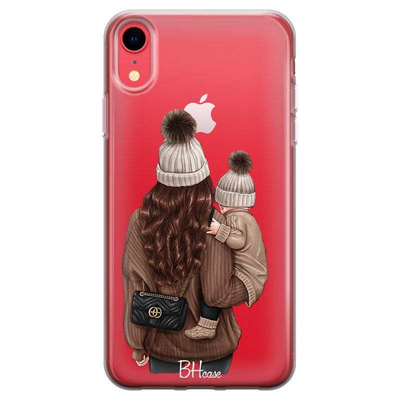 Warm Wishes Mom Brown Hair iPhone XR Tok