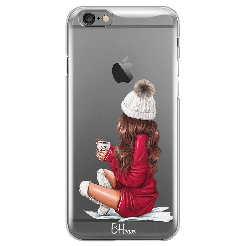 Winter Chill Brown Hair iPhone 6/6S Tok