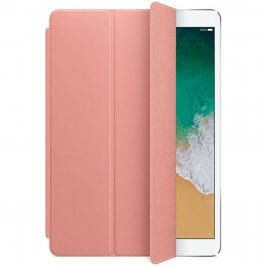 Apple Leather Smart Cover Soft Pink iPad 10.5