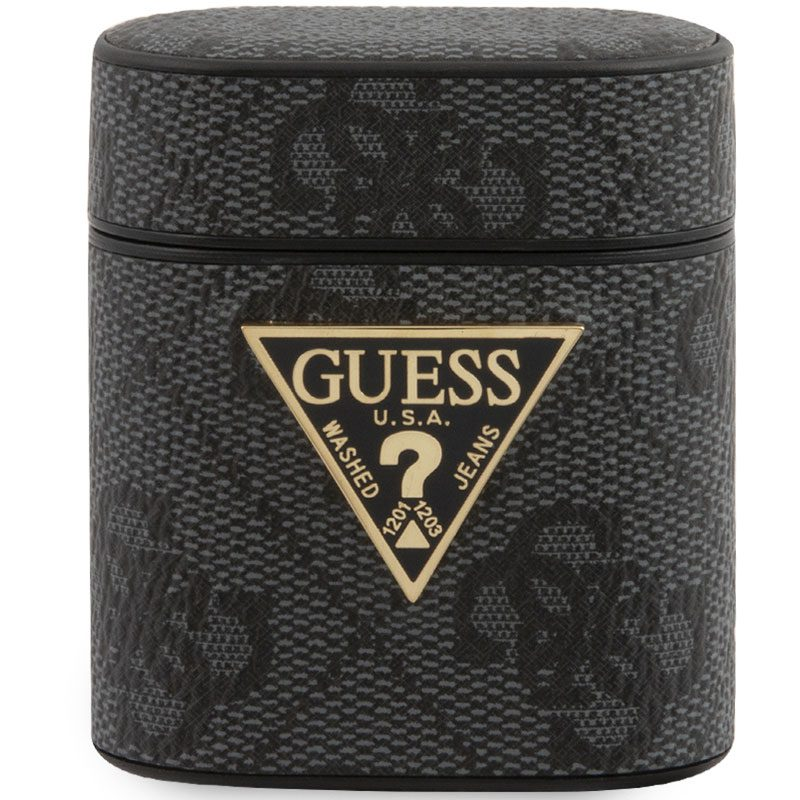 Guess AirPods Case 4G Black