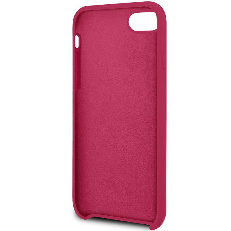 Guess Retro Silicone Burgundy iPhone 8/7/SE 2 2020 Tok