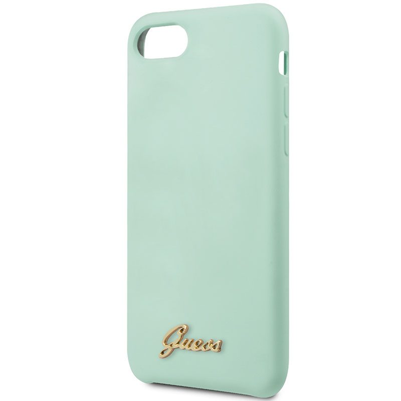 Guess Retro Silicone Green iPhone 8/7/SE 2 2020 Tok