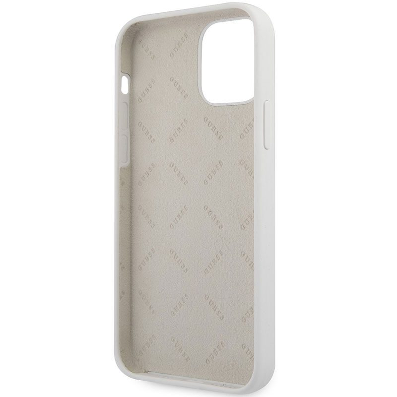 Guess Silicone Vintage Cream iPhone 12 Mini Tok