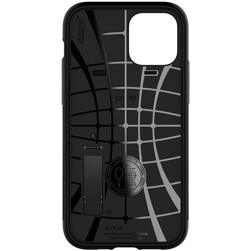 Spigen Slim Armor Black iPhone 12/12 Pro Tok