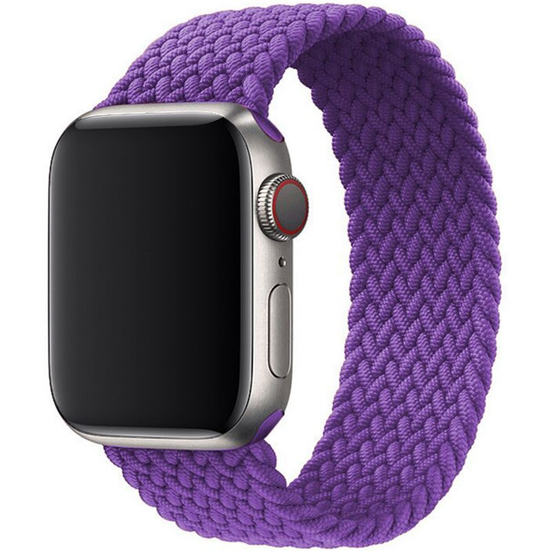 Braided Szíj Apple Watch 38/40mm Deep Purple