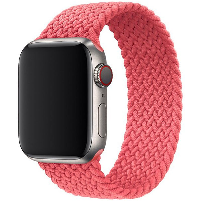 Braided Szíj Apple Watch 38/40mm Pink Punch