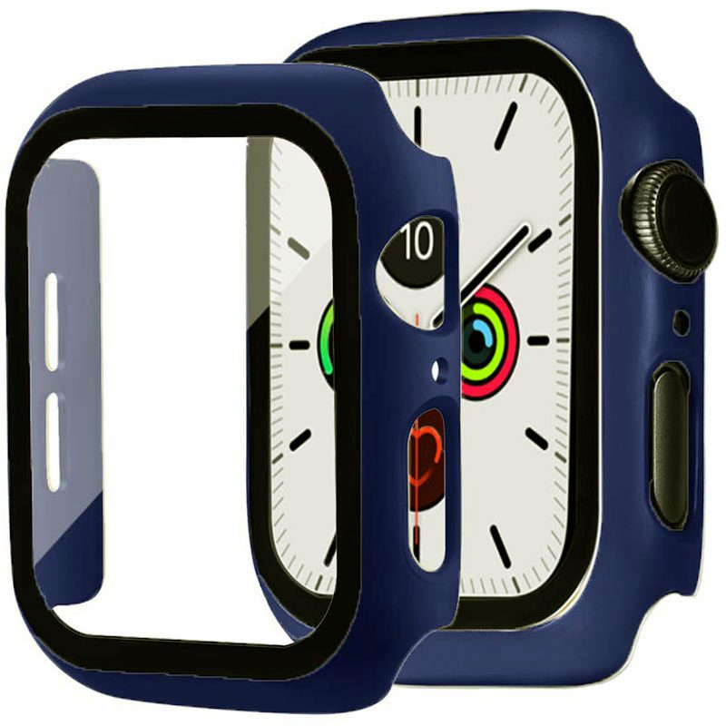 Protective Glass Tok for Apple Watch Midnight Blue