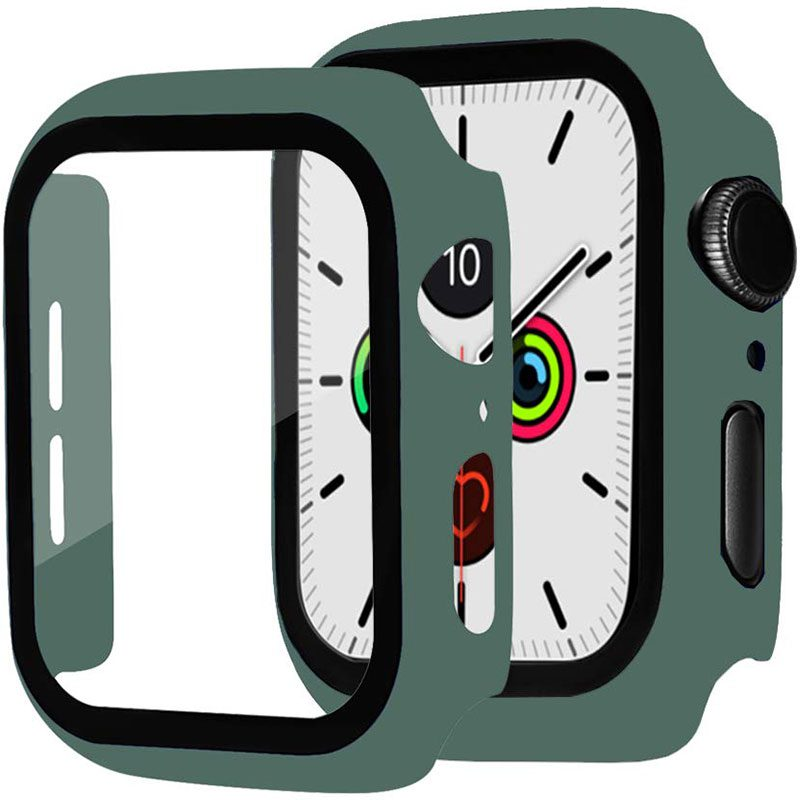 Protective Glass Tok for Apple Watch Pine Green
