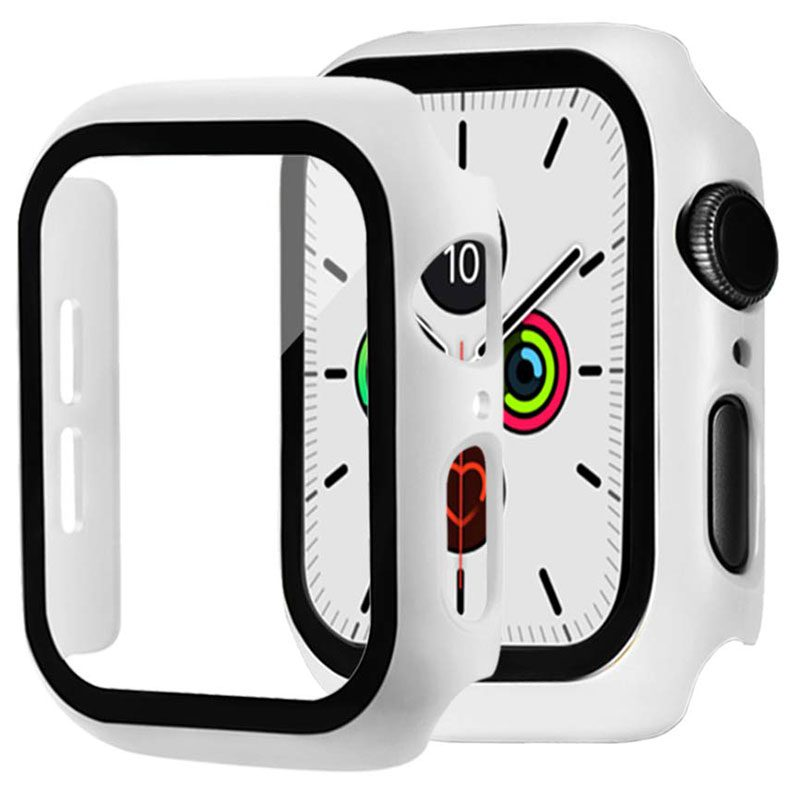 Protective Glass Tok for Apple Watch White
