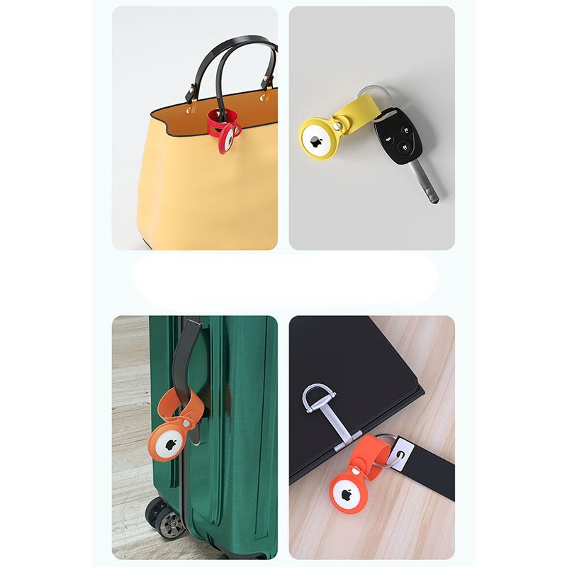 Loop Case for AirTag Sunflower