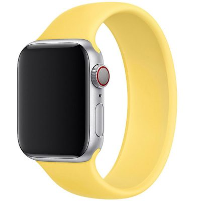 Silicone Solo Loop Szíj Apple Watch 42/44mm Ginger