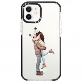All I Want For Christmas Brown Hair iPhone 12/12 Pro Tok