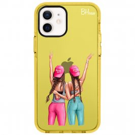 Girls Can Brown Hair iPhone 12/12 Pro Tok