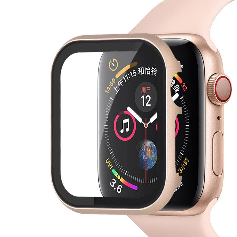 Protective Glass Metalish Tok for Apple Watch Vintage Gold