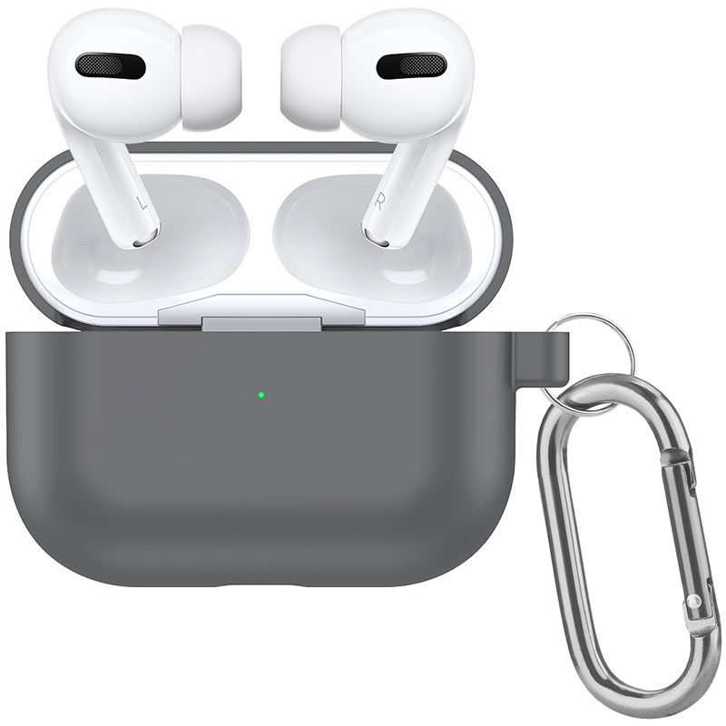 Silicone Tok Airpods Pro Protective Gray