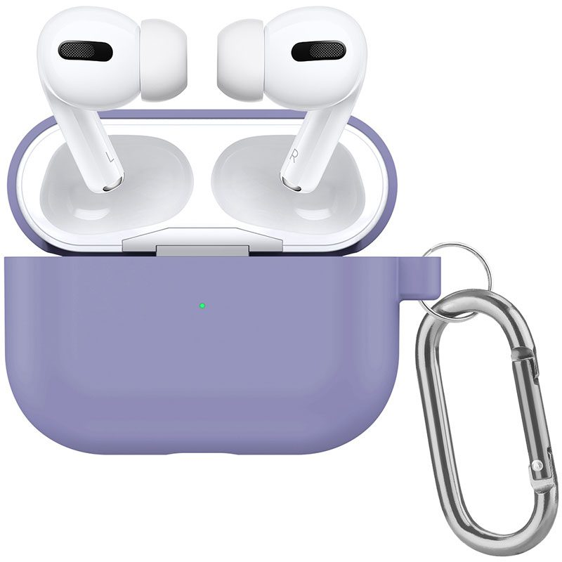 Silicone Tok Airpods Pro Protective Lavender