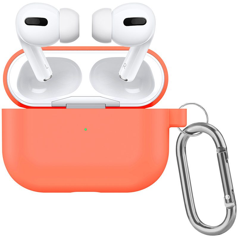 Silicone Tok Airpods Pro Protective Peach