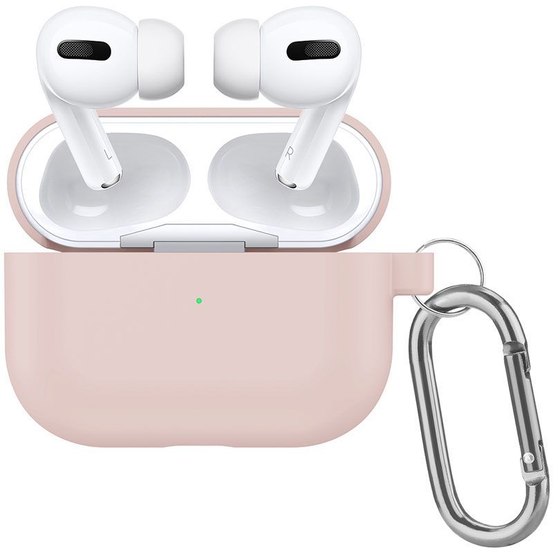Silicone Tok Airpods Pro Protective Pink Sand