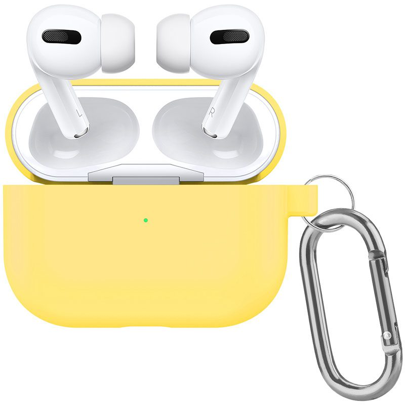 Silicone Tok Airpods Pro Protective Yellow