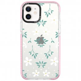 White Floral iPhone 12/12 Pro Tok