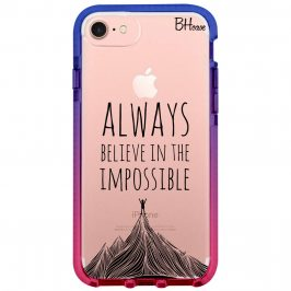 Always Believe In The Impossible iPhone 8/7/SE 2 2020 Tok