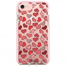 Hearts Red iPhone 8/7/SE 2 2020 Tok