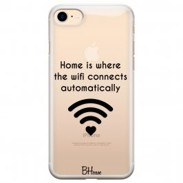 Home Is Where The Wifi Connects Automatically iPhone 8/7/SE 2 2020 Tok