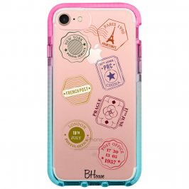 Travel Stamps iPhone 8/7/SE 2 2020 Tok