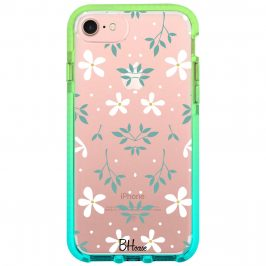 White Floral iPhone 8/7/SE 2 2020 Tok