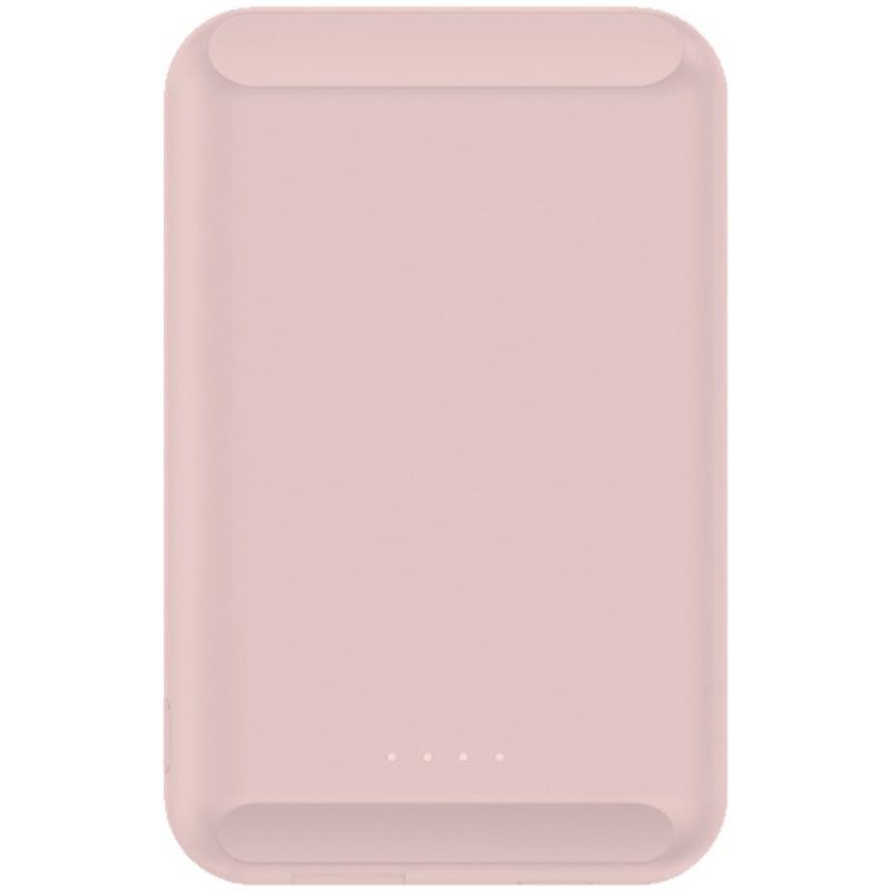 Wireless 5W Power Bank 5000mAh with MagSafe Pink