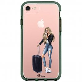 Woman Blonde With Baggage iPhone 8/7/SE 2 2020 Tok