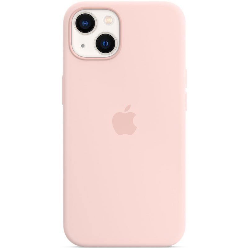 Apple Chalk Pink Silicone MagSafe iPhone 13 Tok