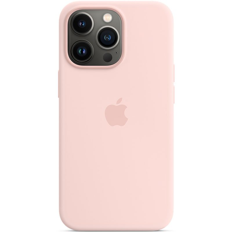 Apple Chalk Pink Silicone MagSafe iPhone 13 Pro Tok
