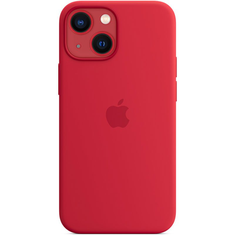 Apple Red Silicone MagSafe iPhone 13 Mini Tok
