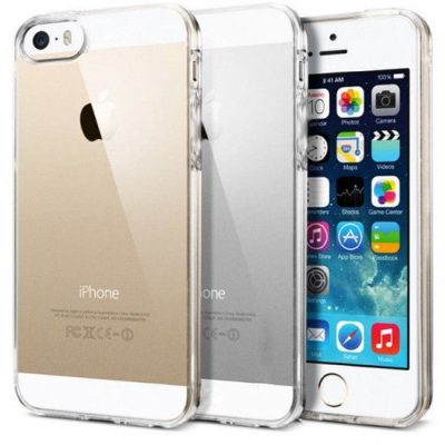 Clear Transparent Coque iPhone SE/5S