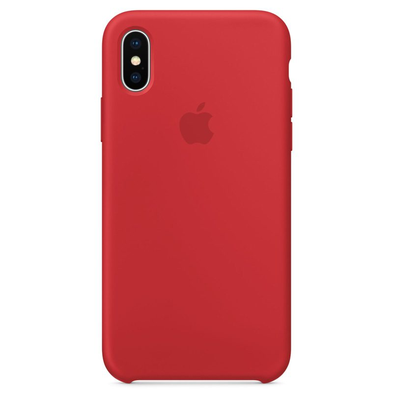 Apple Red Silicone Coque iPhone 7 Plus/8 Plus