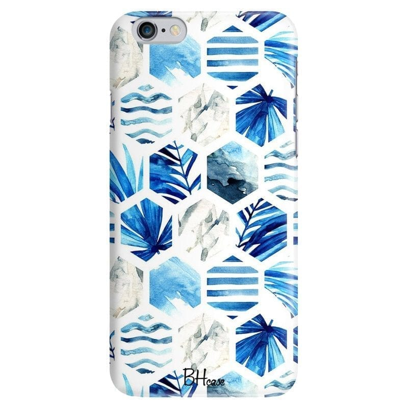 Blue Design Coque iPhone 6 Plus/6S Plus