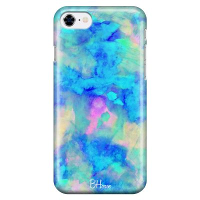 Blue Stone Coque iPhone 8/7/SE 2 2020