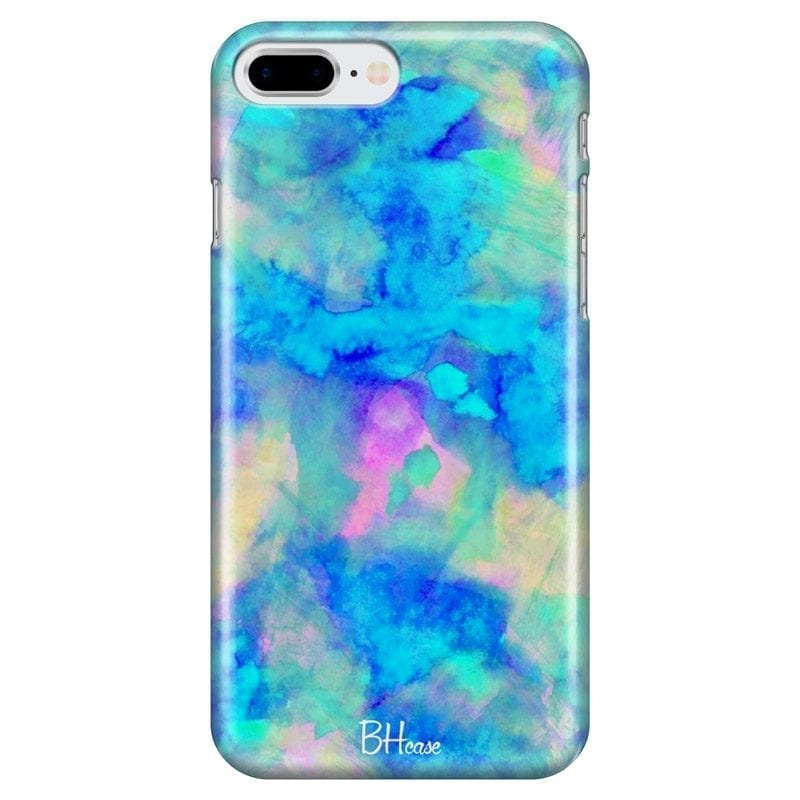 Blue Stone Coque iPhone 7 Plus/8 Plus