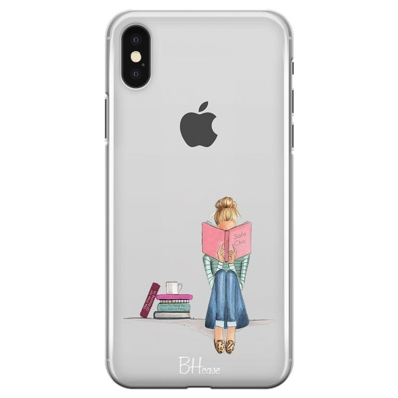 Books Girl Coque iPhone X/XS