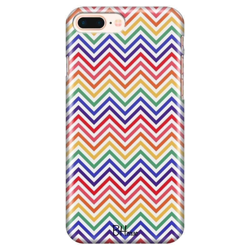 Rainbow Geometric Coque iPhone 7 Plus/8 Plus