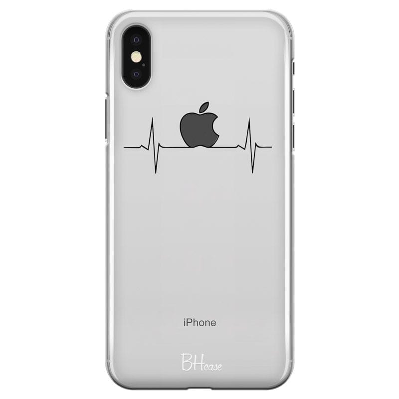 Heart Rate Apple Coque iPhone XS Max