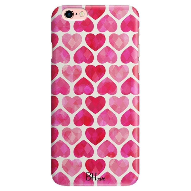 Hearts Pink Coque iPhone 6 Plus/6S Plus