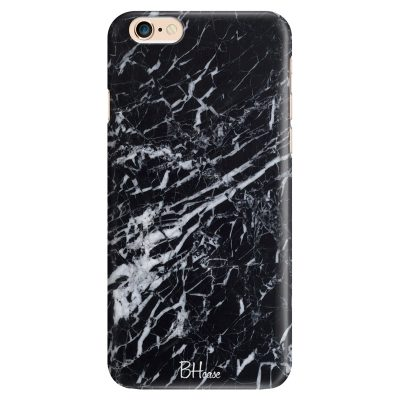 Marble Black Coque iPhone 6/6S