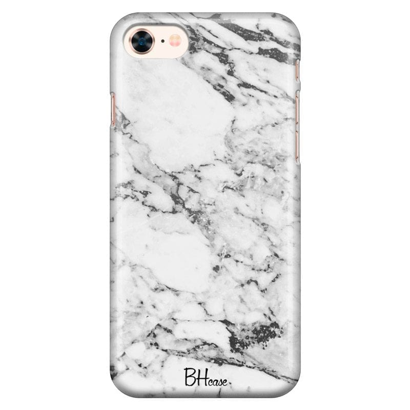 Marble White Coque iPhone 8/7/SE 2 2020